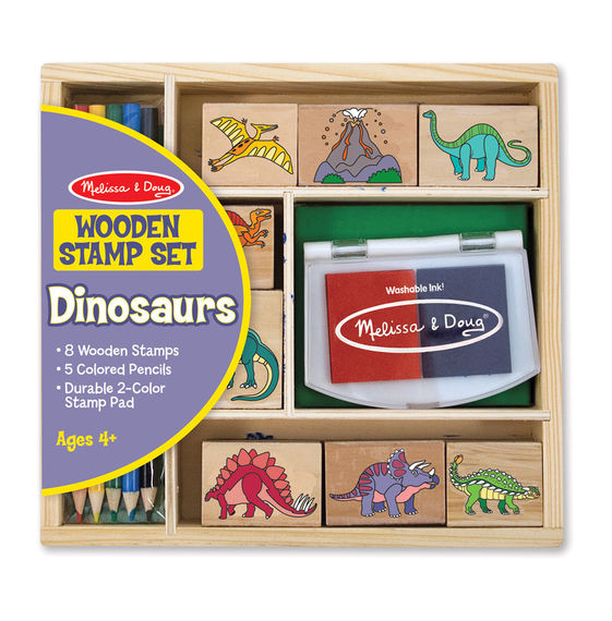 1633 - Melissa & Doug Dinosaur Stamp Set