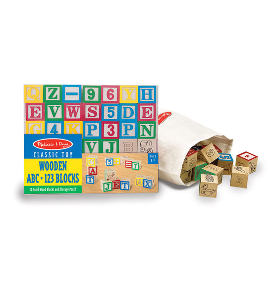 1900 - Melissa & Doug ABC-123 Blocks