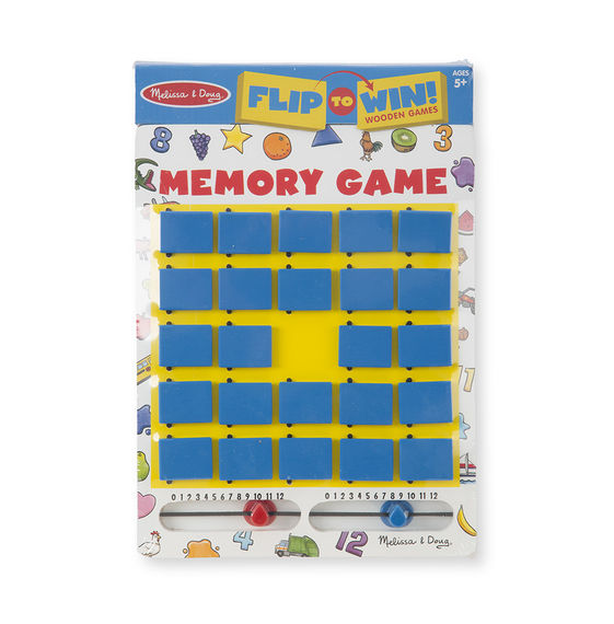 2090 - Melissa & Doug Flip-to-Win Memory Travel Game