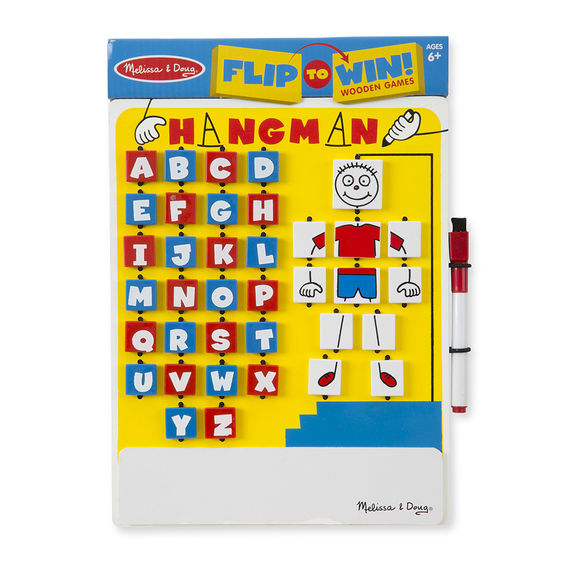 2095 - Melissa & Doug Flip-to-Win Hangman Travel Game