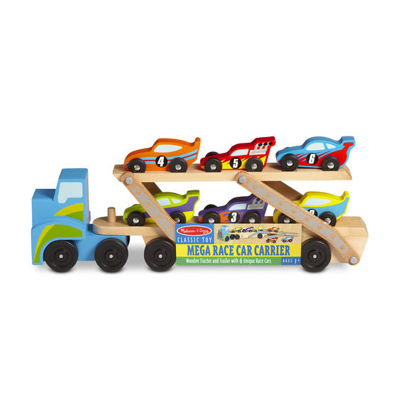2759 - Melissa & Doug Mega Race Car Carrier