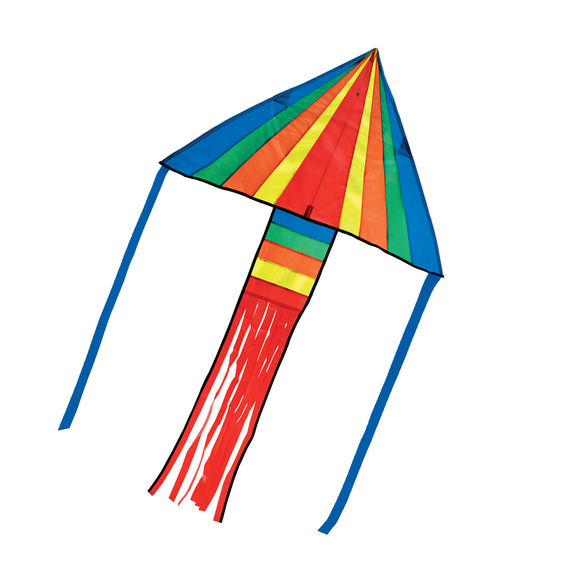 30214 - Melissa & Doug Rainbow Rocket Delta Kite