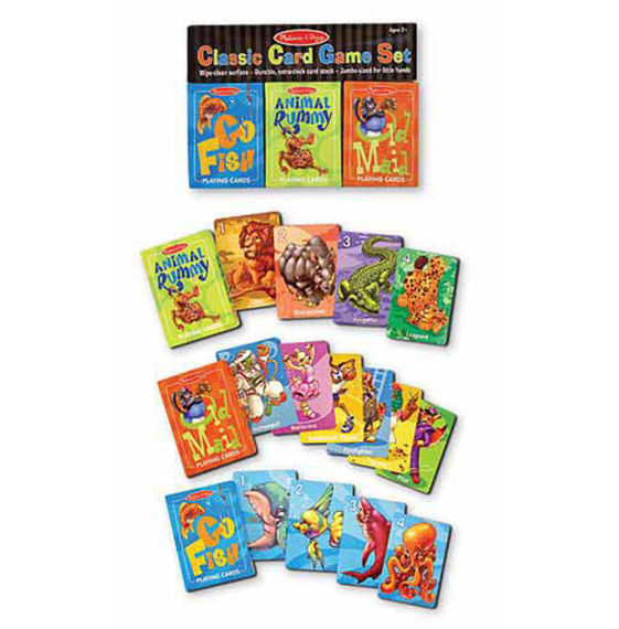 4370 - Melissa & Doug Classic Card Game Set