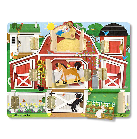4592 - Melissa & Doug Hide & Seek Farm