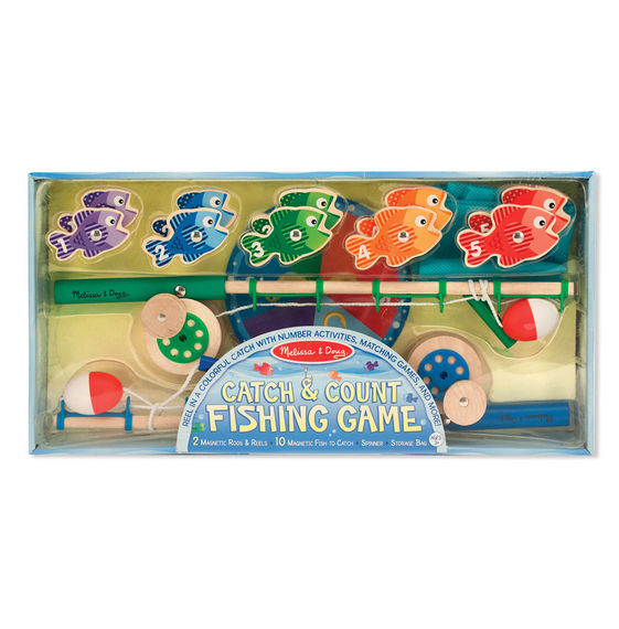 5149 - Melissa & Doug Catch and Count Magnetic Fishing Rod Set