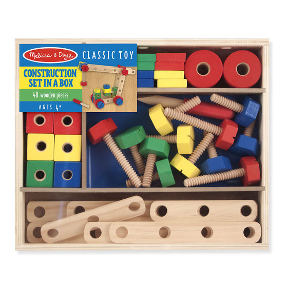 5151 - Melissa & Doug Construction Building Set in a Box