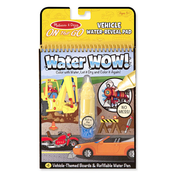 5375 - Melissa & Doug Water WOW! Vehicles On-the-Go Travel Activity