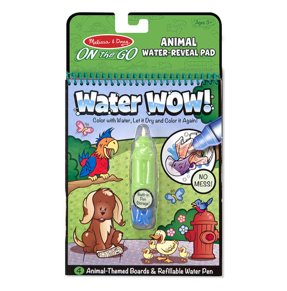 5376 - Melissa & Doug Water WOW! Animals - On-the Go Travel Activity