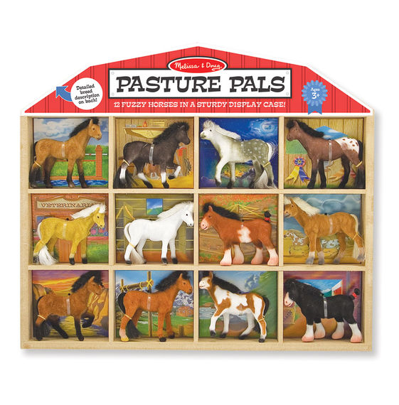 592 - Melissa & Doug Pasture Pals Collectible Horses