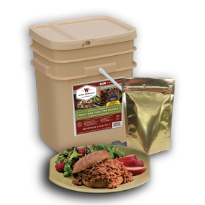 Wise Food 60 Serving Freeze Dried Meat and Poultry Supply
