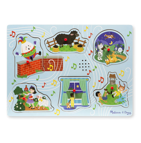 737 - Melissa & Doug Sing-Along Nursery Rhymes Sound Puzzle