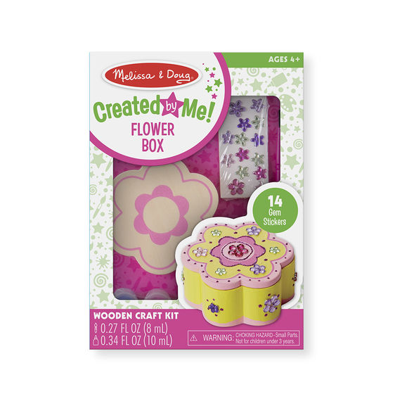 8852 -  Melissa & Doug Decorate-Your-Own Wooden Flower Box
