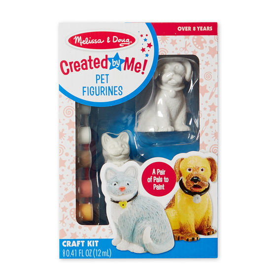 8866 - Melissa & Doug Decorate-Your-Own Pet Figurines