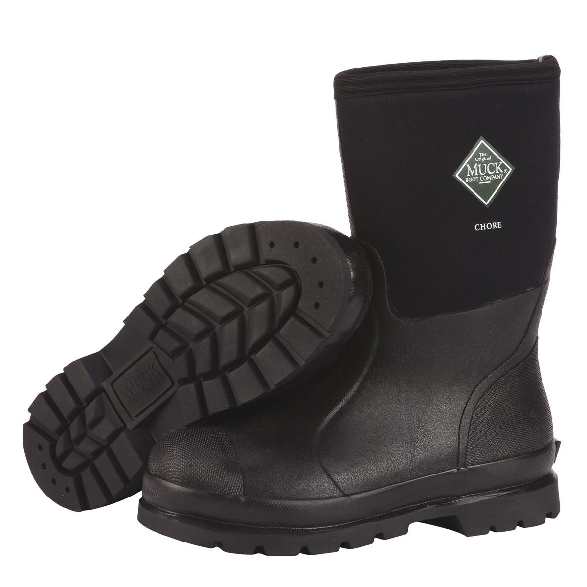 60d2656fa Original Muck Boot Company Chore Mid-Cut Boot, Black
