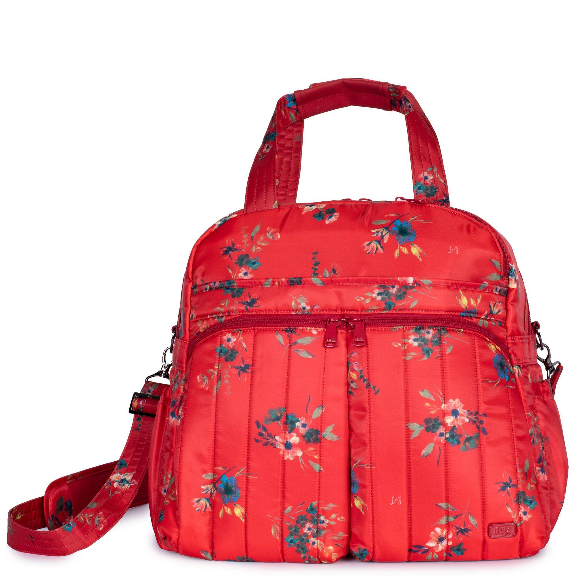 LUG - Boxer - Workout & Weekend Bag - Bouquet Red
