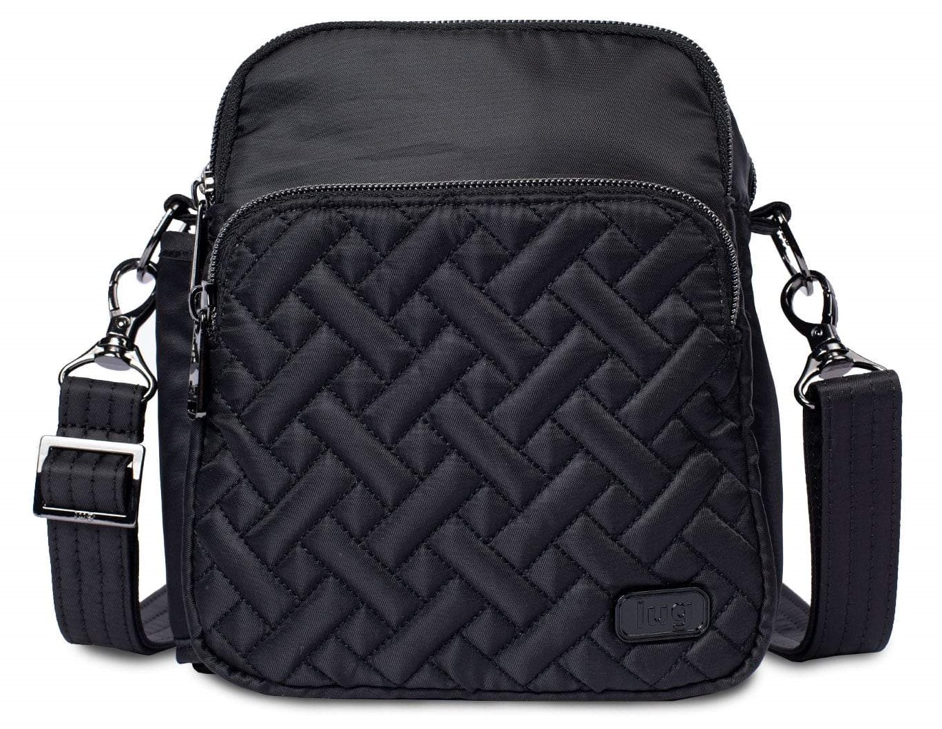LUG - Can Can 2 - Convertible Crossbody/Belt Bag  - Midnight Black