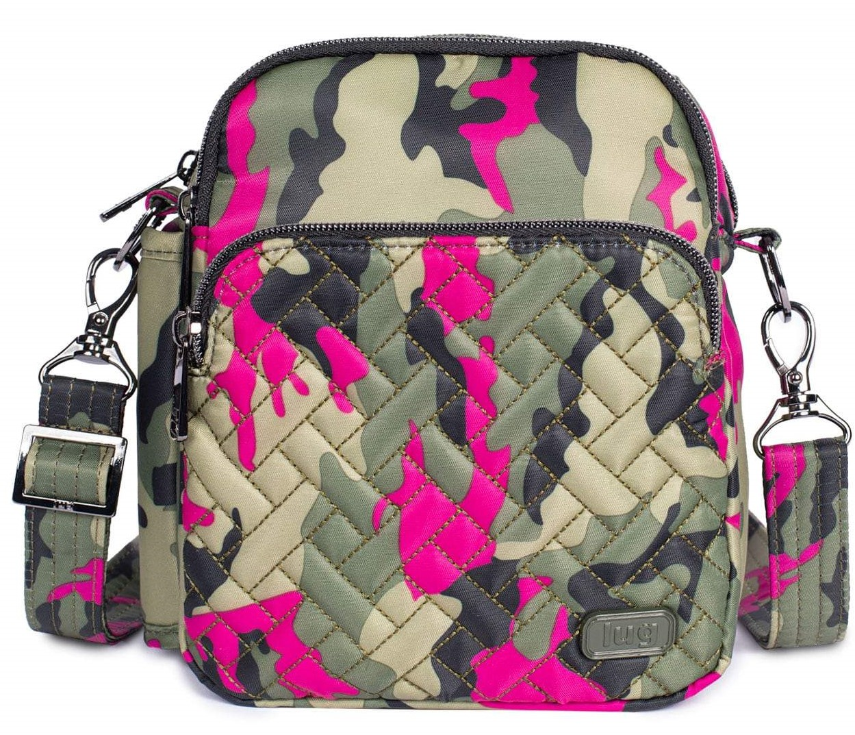 LUG - Can Can 2 - Convertible Crossbody/Belt Bag - Camo Orchid