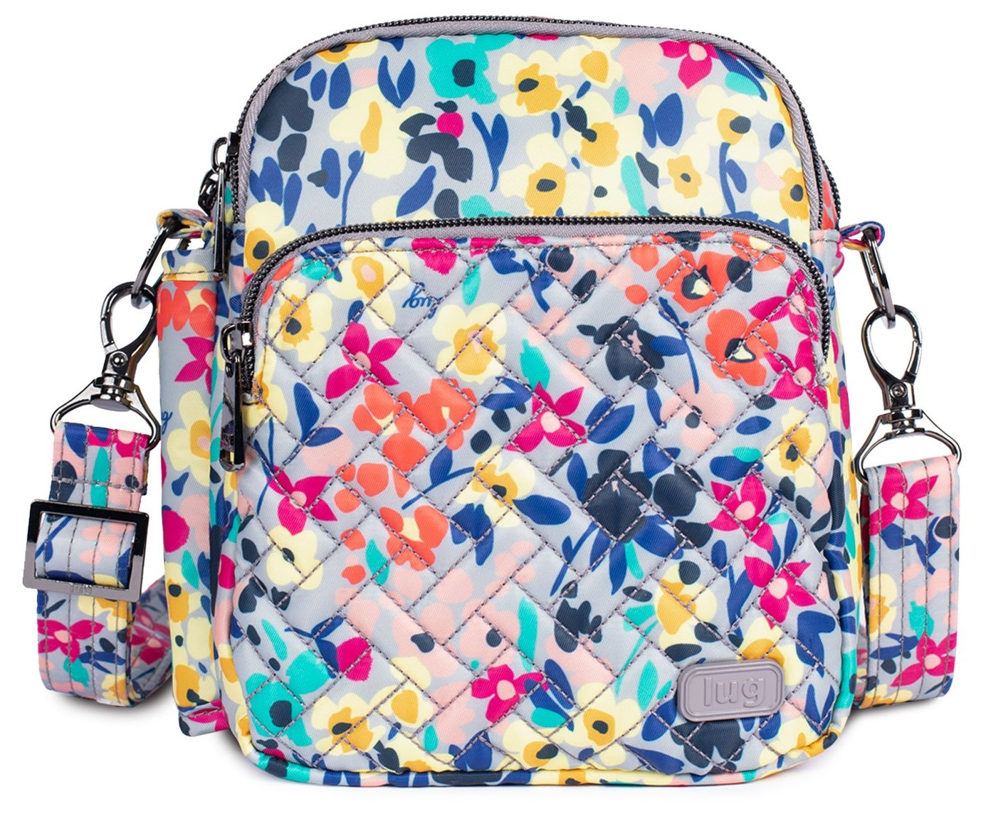LUG - Can Can 2 - Convertible Crossbody/Belt Bag - Wildflower Multi