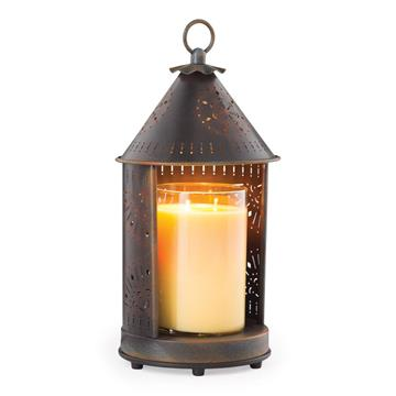 Tin Punched Candle Warmer Lanterns