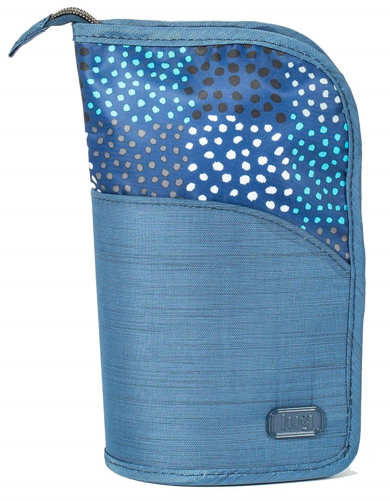 LUG - Canoe - Standing Make-up Case - Confetti Blue