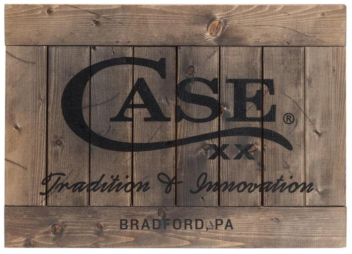 Case XX #50246 Traditions Wooden Sign