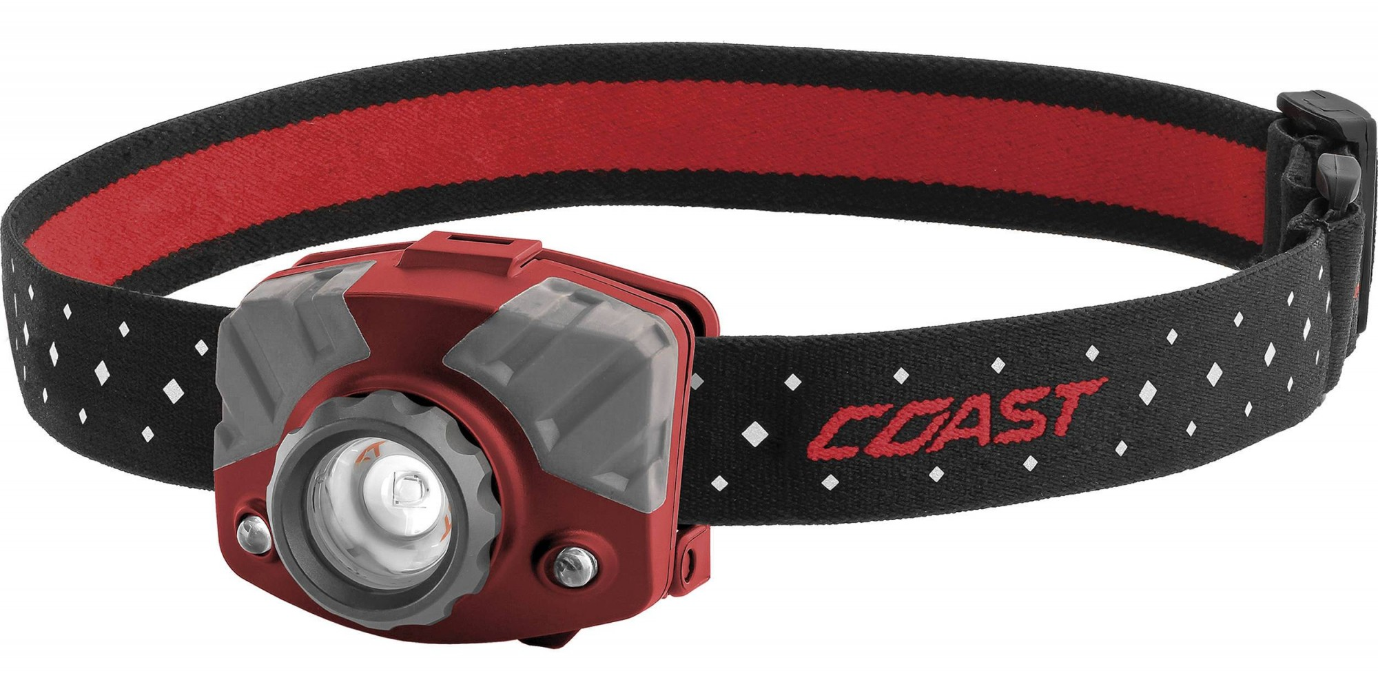 Coast FL75R Rechargeable Pure Beam Focus Headlamp - 20618, Red
