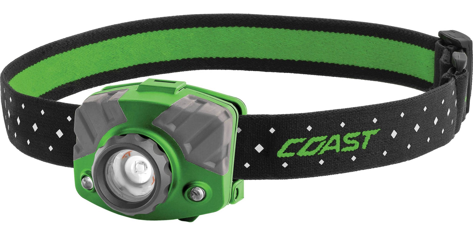 Coast FL75R Rechargeable Pure Beam Focus Headlamp - 20619, Green