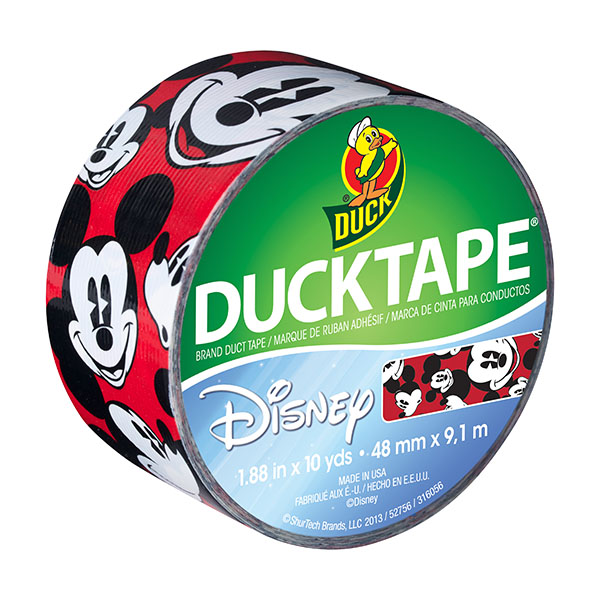 Single Roll Crispy Bacon Duck Brand 283700 Printed Duct Tape 1.88x10 yd