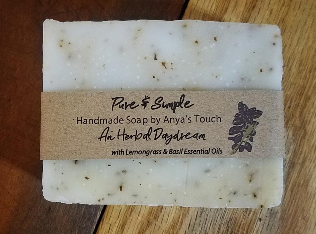 Anya's Touch Herbal Daydreams Organic Handmade Soap - 5oz.