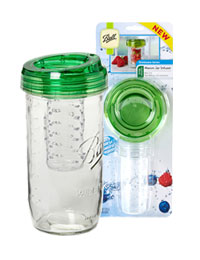 Wide Mouth Mason Jar Infuser