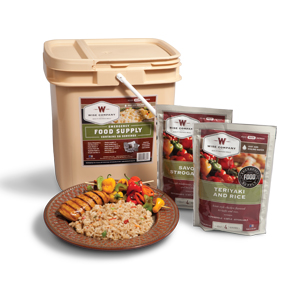 Wise Food 56 Serving Grab & Go Emergency Food Supply