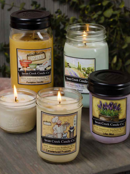 Swan Creek Pantry Jar Candles - 12oz.