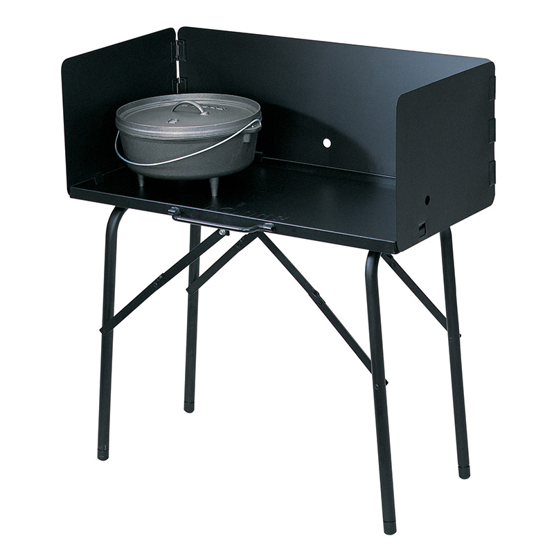 Camp Dutch Oven Cooking Table