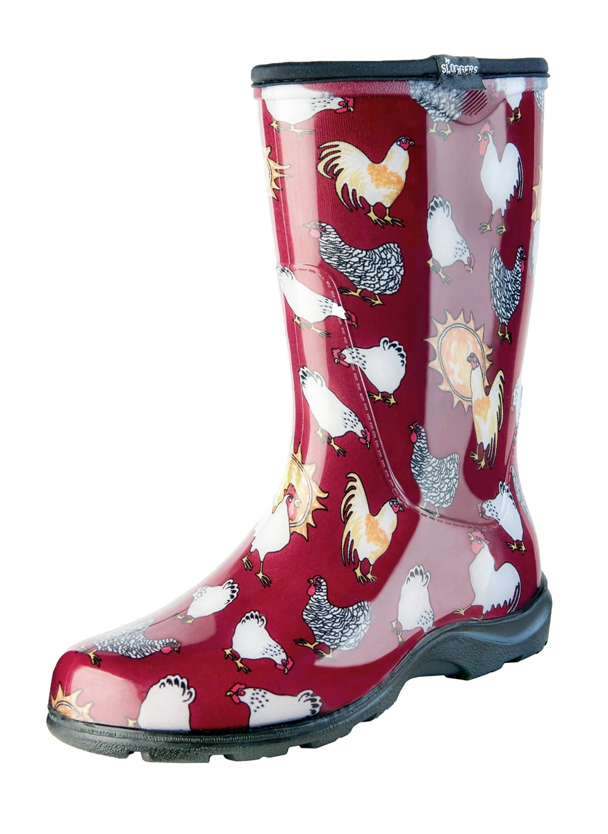 Chicken Barn Red Slogger Boot