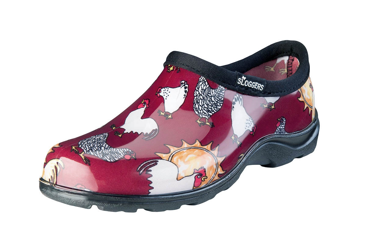 Chicken Barn Red Slogger Shoe