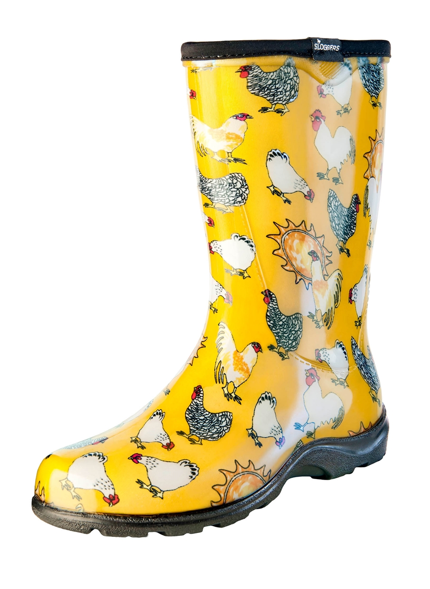 Chicken Barn Yellow Slogger Boot