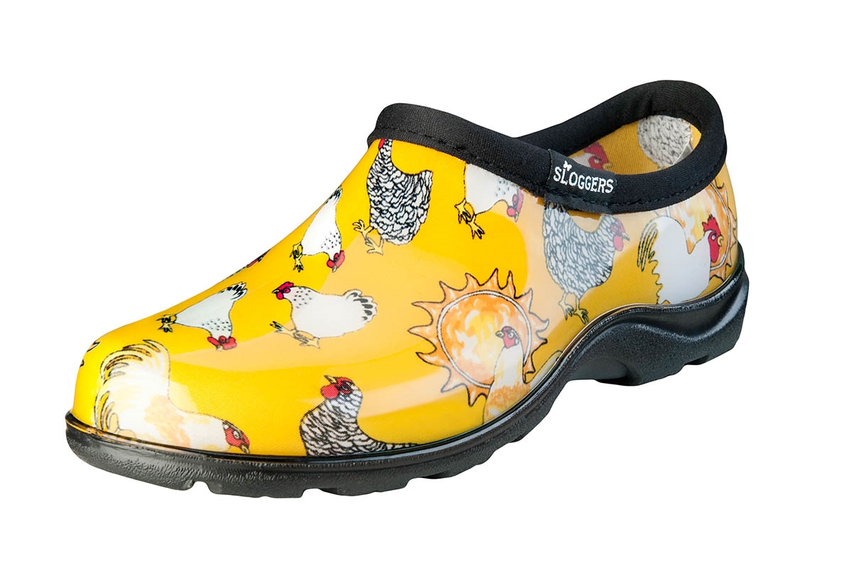 Chicken Barn Yellow Slogger Shoe