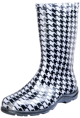 Houndstooth Slogger Boot