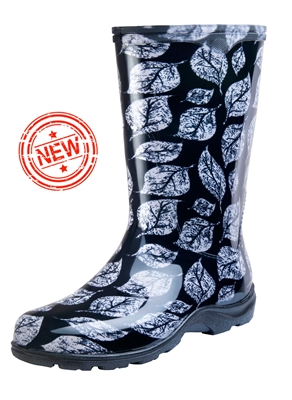 Black Leaf Slogger Boot