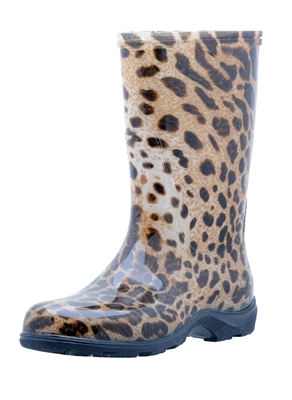Leopard Slogger Boot
