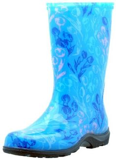 Tulip Blue Slogger Boot