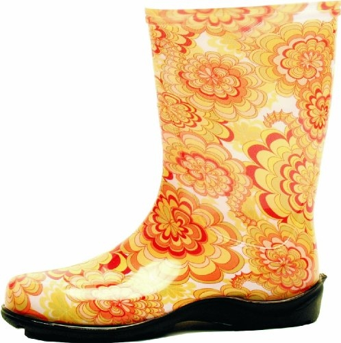 Wildflower Yellow Slogger Boot