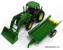 6210 Tractor w/ Loader & Spreader