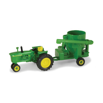 John Deere 4010 with Grinder Mixer